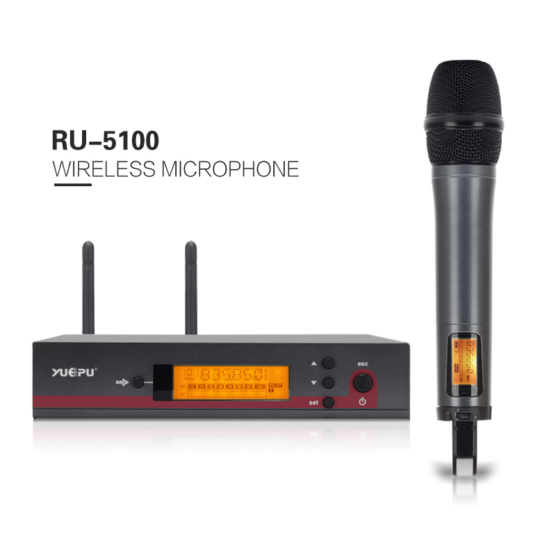 top quality professional true diversity single handheld wireless mic microfone uhf wireless. Black Bedroom Furniture Sets. Home Design Ideas