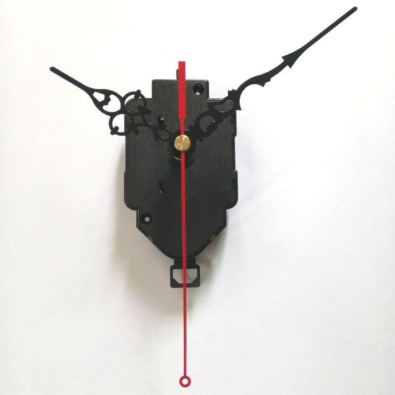 Velkoobchod! 20 set skutečných 12888 Swing Movement Quartz Clock Movement for Clock Mechanism Repair DIY clock accessories 22mm shaft