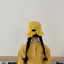New Design Bucket Hat Women Fashion Black Bob Caps Hip Hop Gorros Men Summer Cotton Beach Sun Fishing