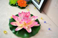 60 CM Diameter Artificial Silk Lotus Flower floating water Lotus Flower for Wedding home Decorations flower Home Ornament