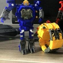 Дропшиппинг робот трансформация наручные часы игрушка меха Робот Электронные часы детские спортивные Мультяшные часы детские рождественские подарки