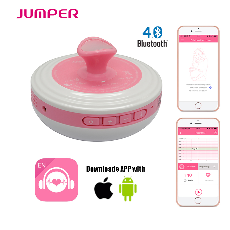 Фотография ultra-sonografia doppler By Wireless Bluetooth connection APP listen baby sounds, FDA & CE Approved Prenatal Heart Beat Monitor