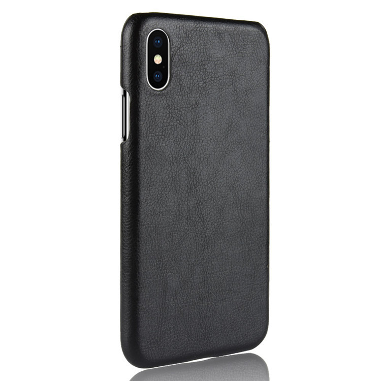 30PCS Ultra Thin Leather Case For iPhone 8 7 6s Plus Business Style Case For iPhone X Back Protector