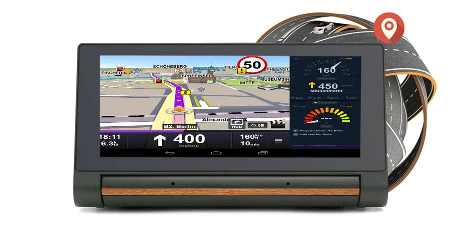 "Junsun 3G Car DVR GPS Camera 6.86""Android dash cam Full HD 1080p Video recorder Wifi Bluetooth registrator Dual lens dvrs Camera 21"