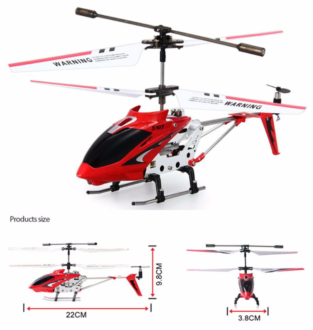 Syma S107G RC Toys Helicopter 3CH Mini Indoor Remote Control Co-Axial Metal RC Helicopter Light Built in Gyroscope Alloy Copter