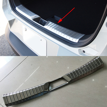 2016 Car Styling Stainless Steel Trim Protection Accessories Sequins Car Trunk Built Pedal For Mazda CX-3 2016