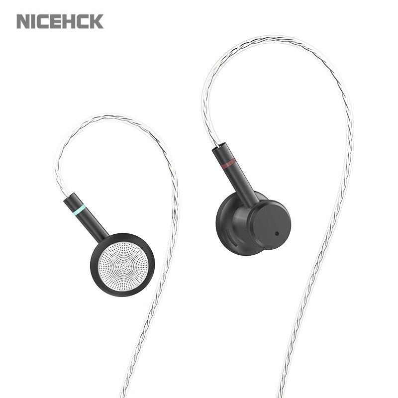 NICEHCK ME80 3.5mm HIFI Metal Earbud 15.4mm Dynamic Driver Metal Bass Earbud Earphone Cost-effective Model NICEHCK EBX/EB2 VIDO