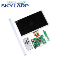 Skylarpu 9''inch LCD display screen HDMI / VGA Digital LCD Driver Board TFT LCD AT090TN10 for Raspberry Pi 800*480 WVGA LCD Set