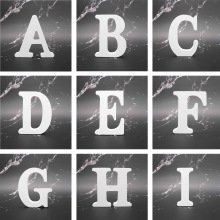 Wedding-Decoration Wooden Letter Personalised English Alphabet Name-Design Art-Craft