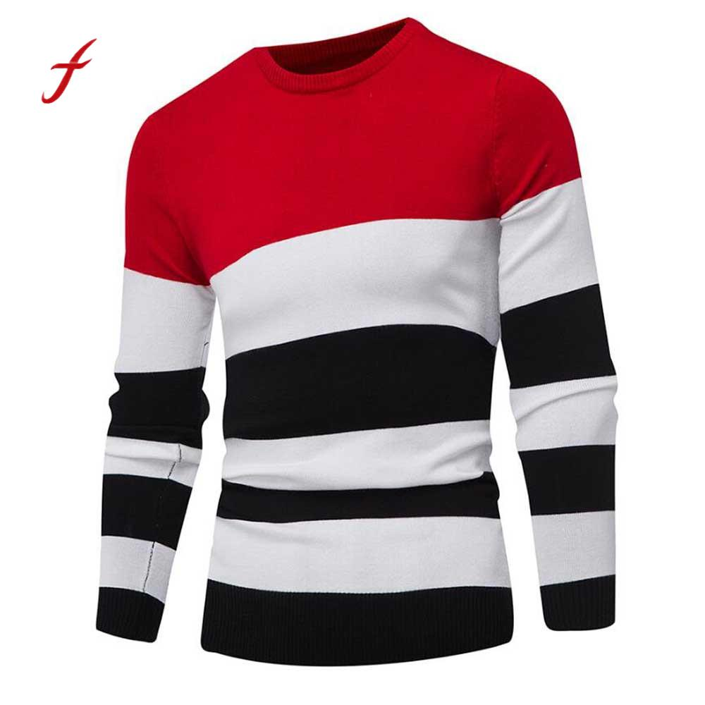 Sweater Men Jumper Plus-Size Outwear Pull Winter Fashion Slim Blouse Homme Roupas
