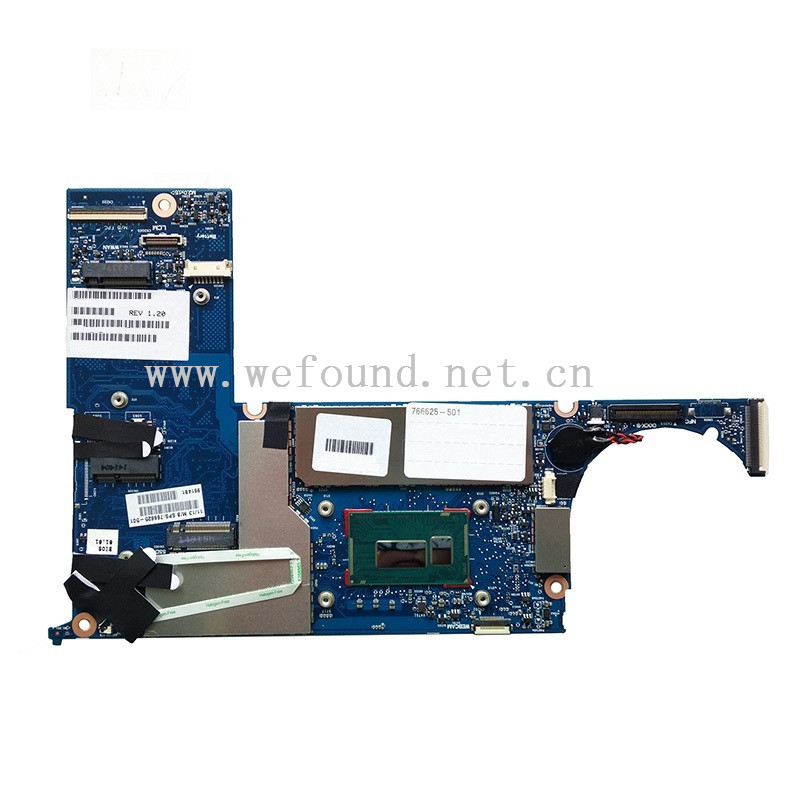 MB for HP Pro x2 612 G1 Tablet i5-4202Y Motherboard 8GB 766625-001 766625-501 766625-601