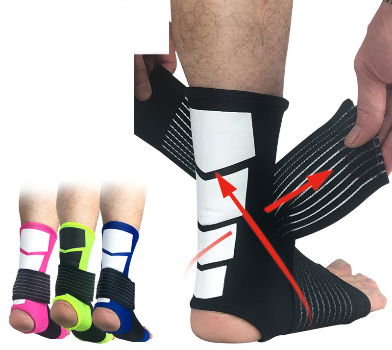 Basketball Football Ankle Guards Ankle Socks Ankle Protection Bandage Sport Ankle Support Safety Running Ankle Brace Adjustable
