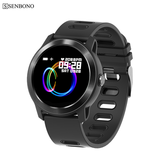 SENBONO S08 plus Men Smart Watch Fitness Tracker Heart Rate Monitor Pedometer IP68 Waterproof Women Smartwatch For Android IOS