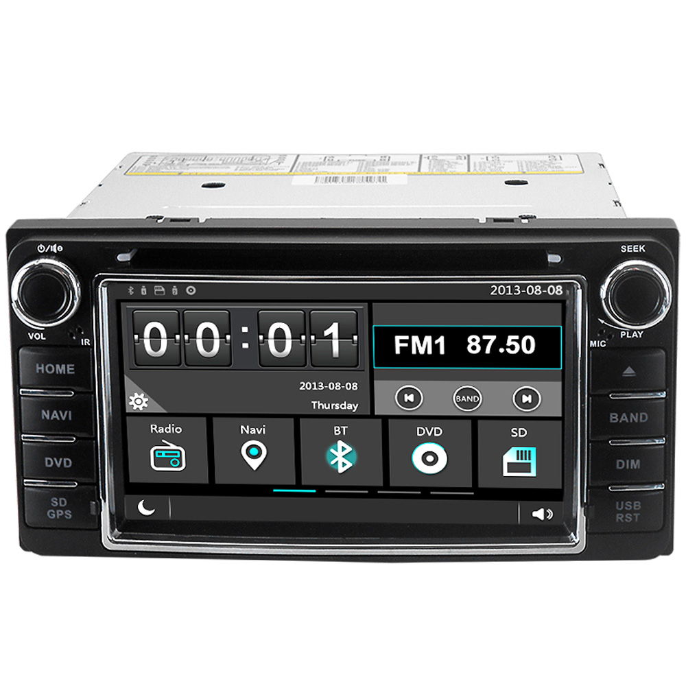 Witson C30 Car GPS DVD Player Head Unit Sat Nav for Toyota