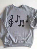 Music Note Shirt Music Notes Music Notes Shirt Music Teacher Gift Greys Anatomy Sweatshirt Tumblr Sweatshirt