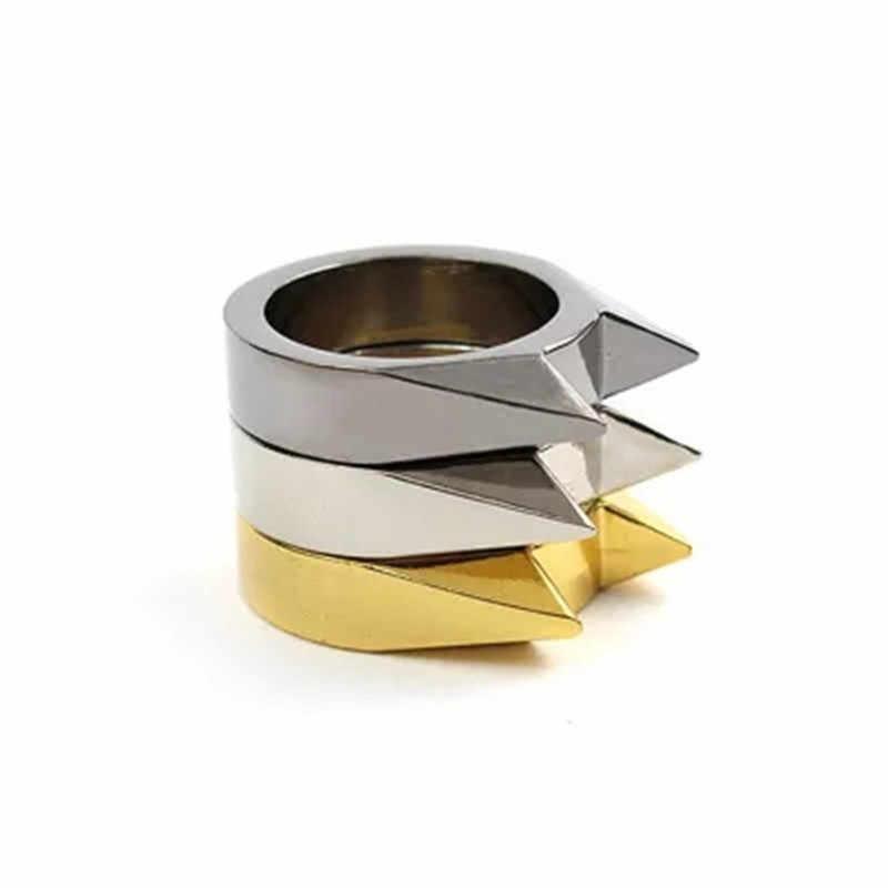 20PCS autodefesa anel armas arma dos homens ao ar livre homem homens de aço auto-defesa legítima defesa da liga de defesa ao ar livre autodefesa