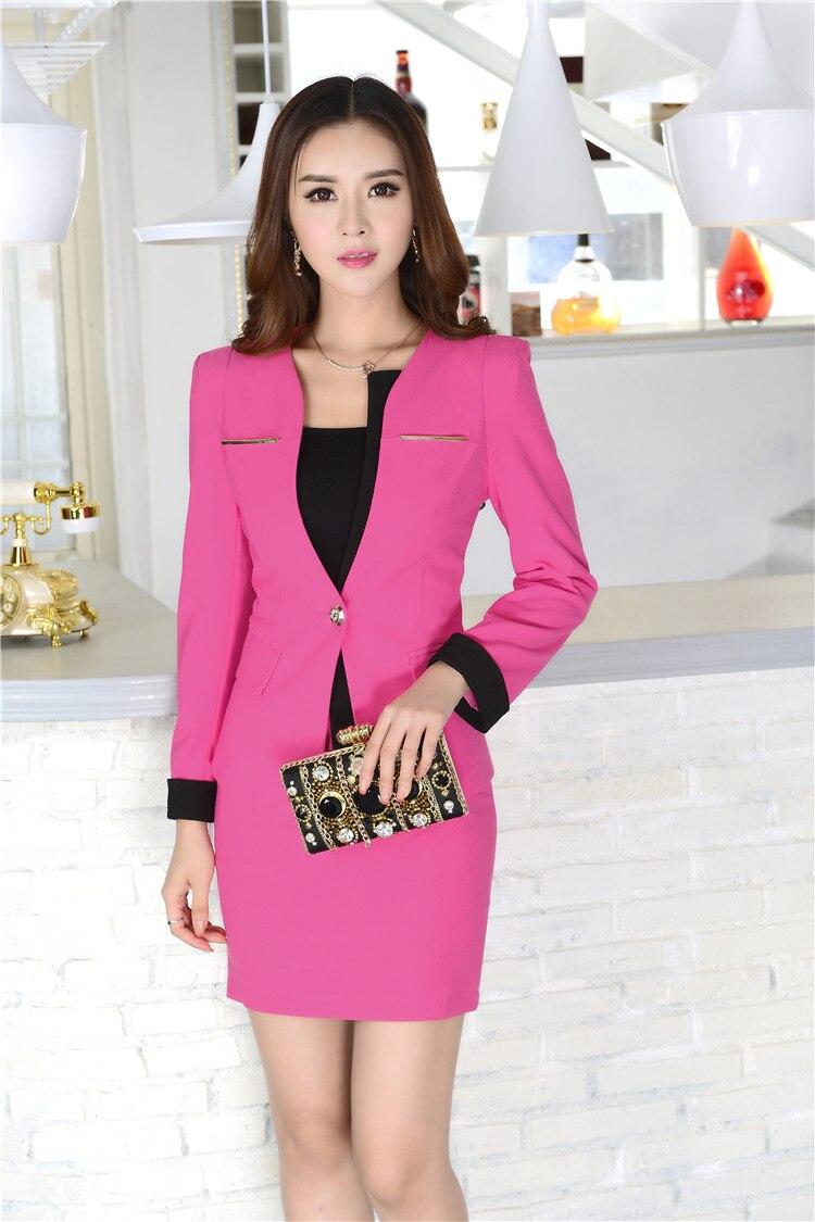 Tienda Online Nuevo Profesional Otoño Invierno mujeres de negocios ...