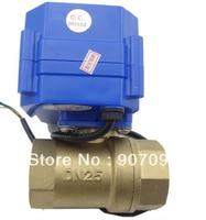 1'' Brass Electric Ball Valve 12V Voltage CWX 15Q/N