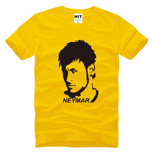 Neymar PSG Printed Men's T-Shirt