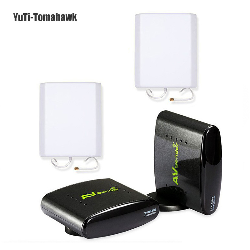 2.4GHz Wlreless AV Sender Transmitter And Receiver TV Audio Video Sender Extend 700m Signal Wireless Transmission