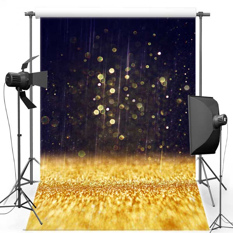 MEHOFOTO Gold Shimmer New Fabric Flannel Photography Background For Wedding Light Vinyl Backdrop For Children Photo Studio F567 mehofoto 8x12ft vinyl photography background christmas theme backdrops light for children snow for photo studio st 328