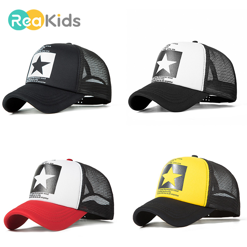 340b507399e REAKIDS Children s Baseball Cap New Pattern Baby Boys Girls Baseball Cap  Children Boy Girl Sun Hat