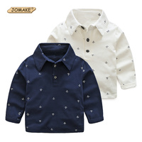 Boys T Shirts Next 2016 Spring Children Clothing Brand Full Anchors Printed Kids Clothes Gentleman Boys