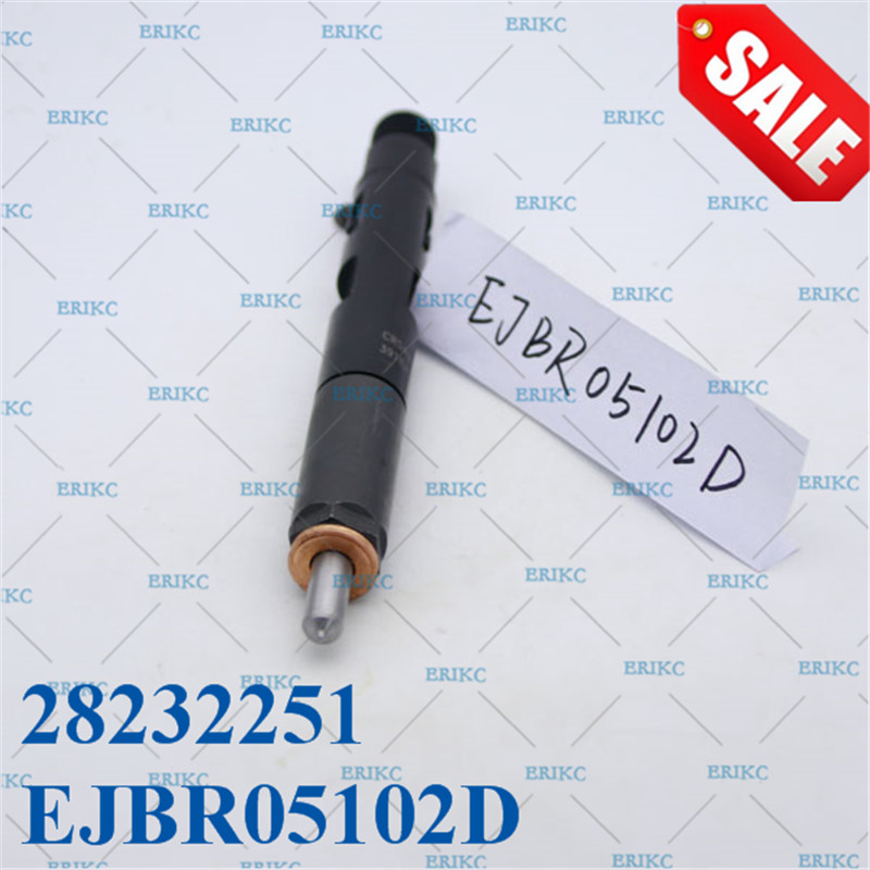 ERIKC Injector EJBR05102D diesel Common rail 28232251 Dispenser Nozzle assy EJBR0 5102D Inyector for DACIA LOGAN Euro 4 engine common rail injector fuel diesel engine 0445120134 diesel injection nozzle assembly 0 445 120 134 and auto engine