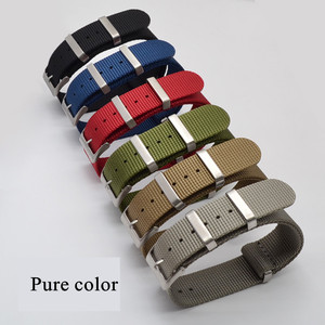 Image 3 - Fashion Nylon Watchband Nato Strap G10 for Omeg a for IW C Sports Watchstrap 007 for Seiko Colorful Bracelet 19mm 20mm 21mm 22mm