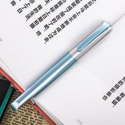 Stylo plume de haute qualité Pimio 0.5mm Iraurita Nib stylo encre de luxe écriture de luxe cadeau d'affaires stylo plume en métal boîte-cadeau
