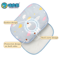 Baby Pillow Prevent Flat Head Shaping Pillow For Baby Nursing Pillow For Newborns Baby head protection 100% cotton Happybear