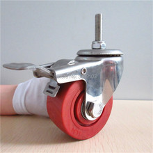 hot 4 inch 3 High temperature resistance Stainless Steel Caster