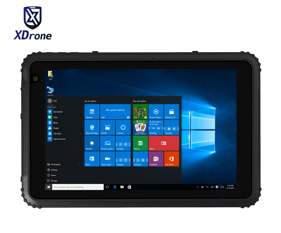 Industrial PC Ultra Slim Tablet 8 Inch PC Tablets Windows 10 Os Intel Core Z8350 3G Single Sim GPS 5.0MP Dual Camera 7500mAH