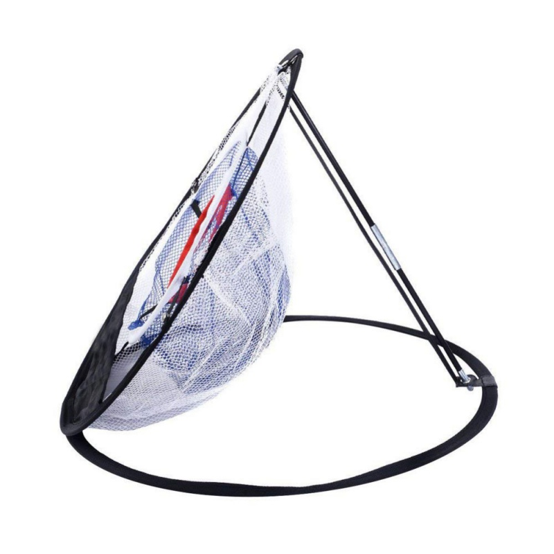 Image 4 - Hot Golf Chipping Practice Net Golf Indoor Outdoor Chipping Pitching Cages Mats Practice Easy Net Golf Training Aids-in Golf Training Aids from Sports & Entertainment