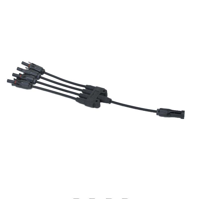 MC4 Connector 4 in 1 For Pcs Solar Panel 100W 150w 200w 250w 300w