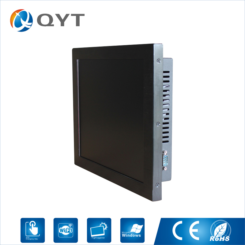 12 inch Embedded Industrial Panel Pc Intel Core i5 1.8GHz 2GB DDR3 32G SSD All In One Touch Screen Pc With VGA RS232 4*USB RJ45