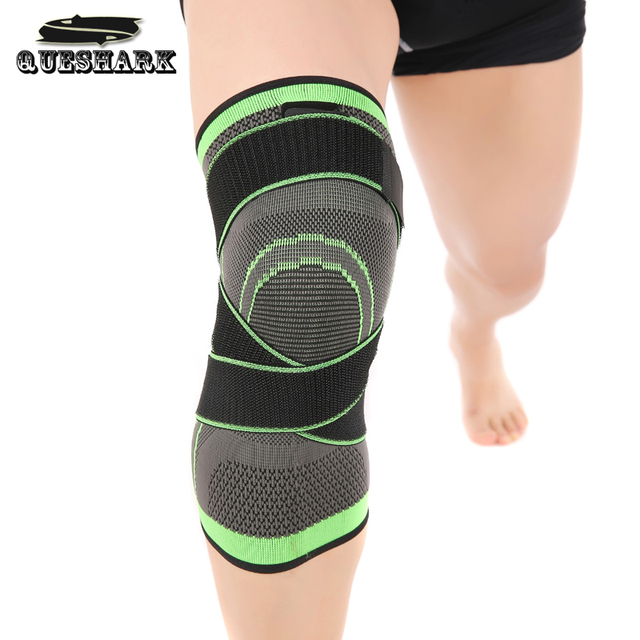US $7 59 5% OFF 1Pcs Professional Protective Hiking Sports Knee Pads  Breathable Bandage Knee Brace Basketball Tennis Cycling Knee Support-in  Elbow &