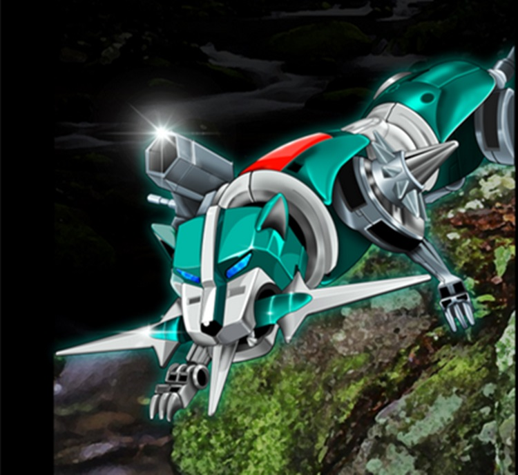 Lensple Fantasy Jewel FJ-BSW02 Robot Green lion Voltron Defender of the Universe Action Figure Kids Toys Without Box