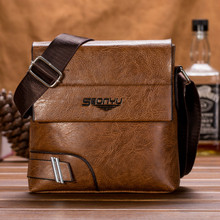 Men bag fashion man shoulder bags High quality PU casual messenger bag business male crossbody bags цена