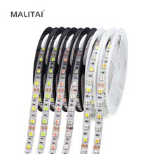 RGB LED Strip light 5050 SMD 12V Waterproof 5M RGBW RGBWW Ribbon Flexible Neon Tape Christmas Decoration Luz Kitchen Cabinet(China)