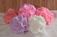 Bouquet Of Orchids Flower Candle Mould Silicone Soap Mold Doll Christmas Gifts