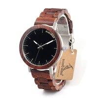 BOBO BIRD Brand M16 All Wooden Watch Men Casual Luxury Wood Strap Wristwatches Gifts Watch Reloj