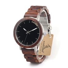 BOBO BIRD Brand  M16 All Wooden Watch Men Casual Luxury Wood Strap Wristwatches Gifts Watch reloj masculino
