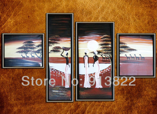 Free Shipping Oil Paintings Modern art Home decoration Living room Handmade Craft Gift