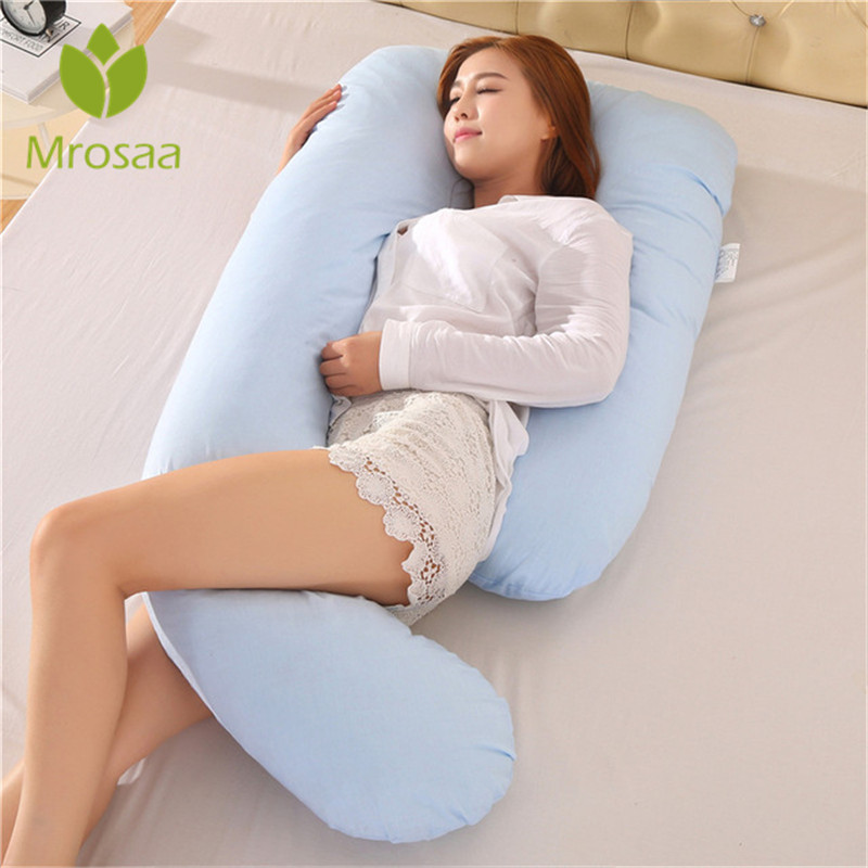 J Shape Pregnancy Comfortable Pillows Maternity Belt Body Character Pregnancy Pillow Women Pregnant Side Sleepers Cushion