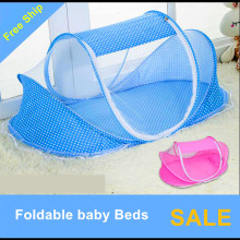 Baby baby mosquito mosquito net cover Mongolia with support package for children with portable folding encryption free installat