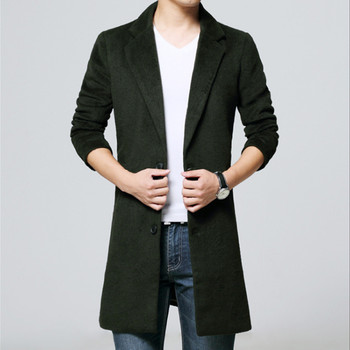 Autumn and spring Mens fashion Classic business trench Coat men's high quality Jacket Men Casual Coats Mens Classic windbreaker