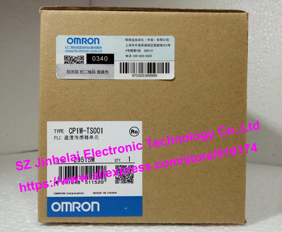 New and original CP1W-TS001  OMRON PLC Temperature sensor unit new and original e3x da11 s omron optical fiber amplifier photoelectric switch 12 24vdc