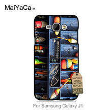 MaiYaCa On Sale Luxury Cool phone Accessories Case For case Galaxy J1 2015  Fishing tackle box lures