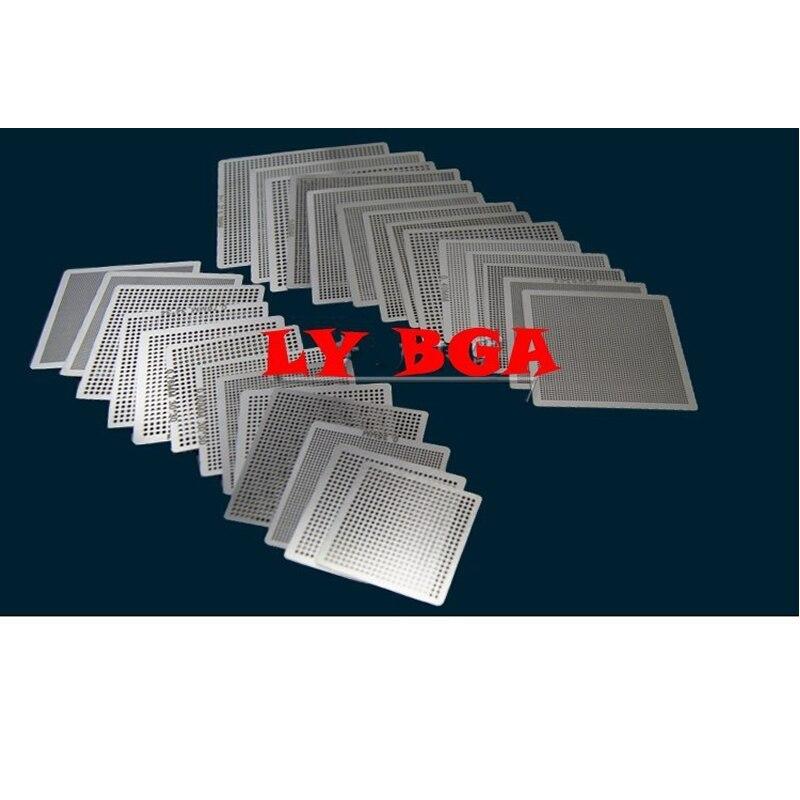 27 Pcs/set Stencil Direct Heat Bga Universal Stencils 0.25, 0.3, 0.35, 0.4, 0.45, 0.5, 0.55, 0.6, 0.65, 0.76mm